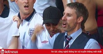 """Xuất hiện Gareth Southgate """"nhái"""", đám cưới """"nghỉ giữa hiệp"""" vì... đội tuyển Anh"""