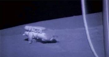 NASA chia sẻ những cú ngã của phi hành gia trên Mặt Trăng