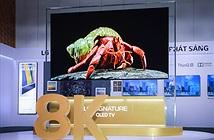 TV LG SIGNATURE OLED 8K đầu tiên và duy nhất ra mắt thị trường Việt giá từ 490 triệu
