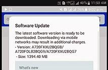 Galaxy A7 (2017) bắt đầu nhận bản cập nhật Android 7.0