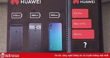 """Huawei hé lộ mô hình pin với dung lượng """"siêu khủng"""" 4.100 mAh cho Mate 20 Pro"""