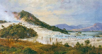 """""""Kỳ quan thiên nhiên thứ 8"""" bị xóa sổ bởi núi lửa và hy vọng khôi phục sau trăm năm chôn vùi"""