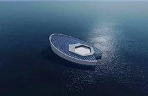 Tàu ngầm chế tạo băng chống biến đổi khí hậu
