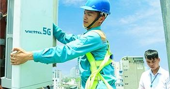 Viettel phát sóng trạm 5G đầu tiên tại TP.HCM