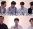 BTS thích thú mở hộp 'siêu phẩm' Galaxy Z Fold2