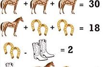 Bài toán con ngựa gây sốt mạng xã hội