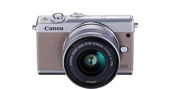 Canon EOS M100 sẽ chính thức bán ra vào đầu tháng 10, giá hơn 13 triệu đồng