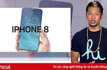 Ngày 12/9, Đài VTC truyền hình trực tiếp từ Mỹ sự kiện ra mắt iPhone 8