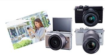 Máy ảnh Canon EOS M100 ra mắt thị trường Việt giá 13,2 triệu