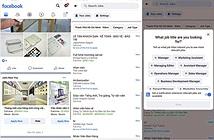 Người dùng Việt Nam có thể dùng tính năng tìm việc làm trên Facebook