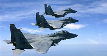 """""""Đại bàng"""" F-15 của Mỹ điêu đứng vì linh kiện rởm"""