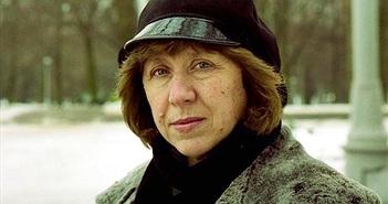 Nữ văn sĩ Belarus giành giải Nobel Văn học 2015