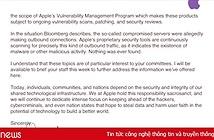 Apple viết thư lên Quốc hội Mỹ thanh minh không hề có chip gián điệp trong hệ thống máy chủ