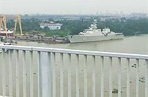 Tàu 011-Đinh Tiên Hoàng xuất hiện ở miền Bắc