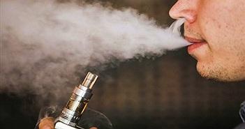 Thuốc lá điện tử không hề an toàn, có thể gây ung thư phổi