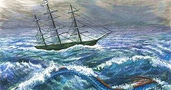 """Truyền thuyết ám ảnh về loài """"rắn biển khổng lồ"""""""