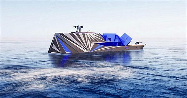 """Siêu du thuyền """"tàng hình"""" trị giá 110 triệu đô"""