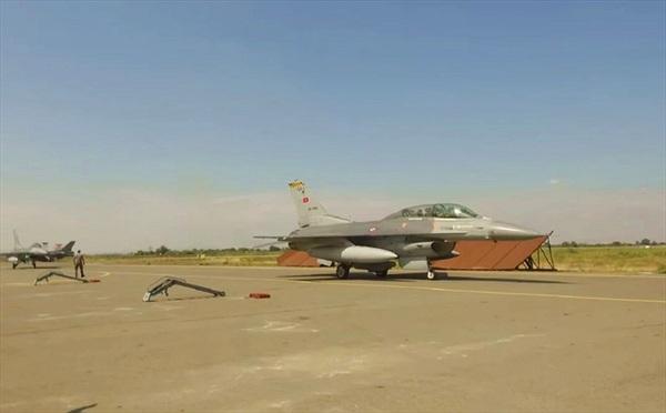 Ảnh vệ tinh tố cáo Thổ Nhĩ Kỳ đưa tiêm kích F-16 đến Azerbaijan