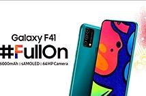 Samsung Galaxy F41 giá rẻ ra mắt: camera 64MP, pin 6.000mAh