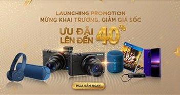 Sony giảm 40% khi ra mắt cửa hàng trực tuyến chính hãng đầu tiên tại Việt Nam