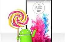 Hàng đỉnh LG G3 lên đời Android 5.0 Lollipop trong vài ngày nữa