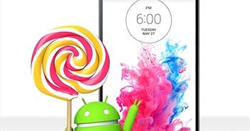 'Hàng đỉnh' LG G3 lên đời Android 5.0 Lollipop trong vài ngày nữa