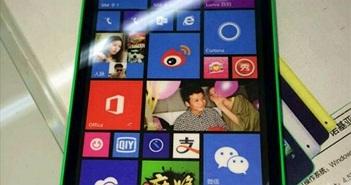 Xôn xao hình ảnh điện thoại Microsoft Lumia 535