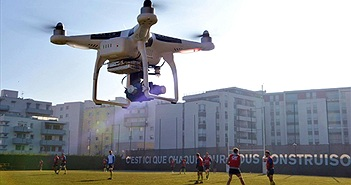 Malaysia dùng Drone chuẩn bị cho AFF Cup