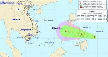 Bão vừa tan, áp thấp nhiệt đới lại sắp vào Biển Đông