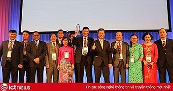 Hệ thống chính quyền điện tử do FPT triển khai được vinh danh ở giải thưởng quốc tế