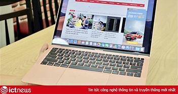 MacBook Air 2018 tại Việt Nam giảm hơn 1 triệu so với ngày đầu, còn gần 36 triệu đồng