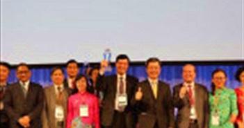 4 đại diện Việt Nam được vinh danh tại ASOCIO 2018