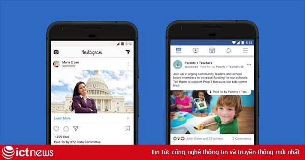 Facebook cân nhắc thay đổi chính sách quảng cáo sau khi bị công kích