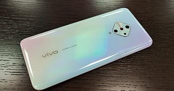 Vivo V17 lộ hình ảnh, camera sau hình kim cương