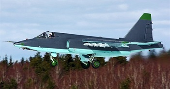 """Lộ tính năng """"khủng"""" máy bay cường kích Su-25SM3 Nga"""