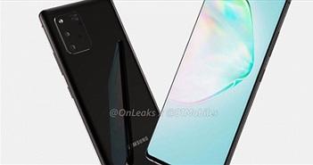 Tiếp tục hé mở diện mạo xuất chúng của Galaxy Note 10 Lite