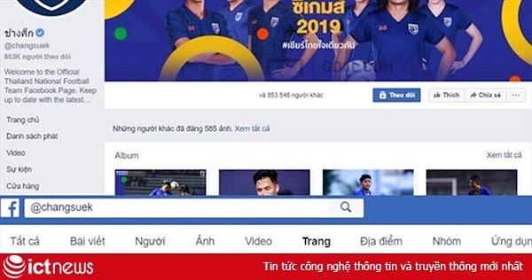 Đội nữ thua trận, fanpage bóng đá Thái Lan lại chặn dân mạng VN