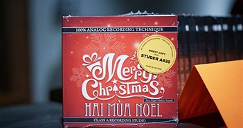 Class A recording ra mắt Album Giáng Sinh đĩa than Hang BeeLem & CD hai mùa Noel
