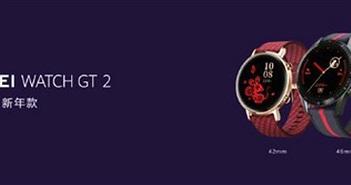 Huawei Watch GT 2 có phiên bản năm mới, Freebud 3 thêm màu Honey Red