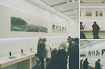 Apple biến cửa hàng bán lẻ thành phòng trưng bày nghệ thuật