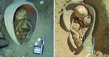 Tục chôn người chết trong bình gốm của người Ai Cập cổ đại
