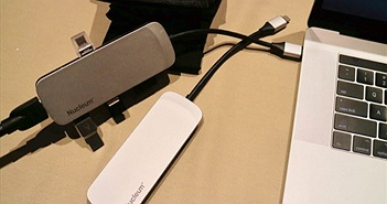[CES 2018] Kingston ra mắt adapter USB-C có tới 7 cổng cho MacBook