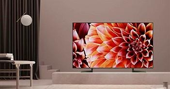 Loạt TV 4K OLED và TV LCD của Sony tập trung vào HDR, trợ lý ảo