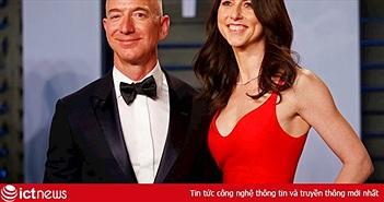 Tỷ phú giàu nhất thế giới Jeff Bezos ly dị vợ sau 25 năm