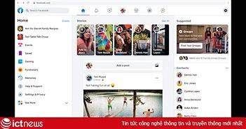 Facebook bắt đầu triển khai giao diện mới trên desktop
