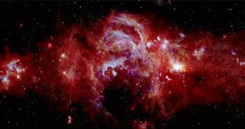 """NASA công bố những hình ảnh chưa từng thấy về """"lõi"""" Ngân Hà"""