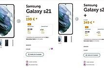 Nhà mạng Bỉ vô tình tiết lộ giá của Galaxy S21 series
