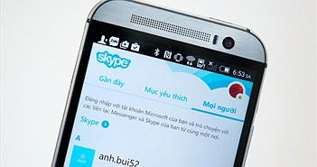 Skype cho Android đã hỗ trợ gửi ảnh ngay cả khi bạn bè offline, bản trên iOS cũng có cập nhật