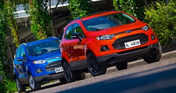 Ford Việt Nam bán ra hơn 2500 xe trong tháng 01/2017