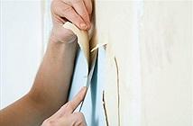 Mẹo bóc giấy dán tường hiệu quả nhất trong mùa dọn dẹp nhà cuối năm